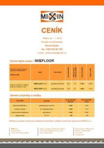 mixin-cenik